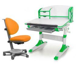 Комплект Mealux Парта Aivengo - S с креслом Cambridge и прозрачной накладкой на парту 65х45