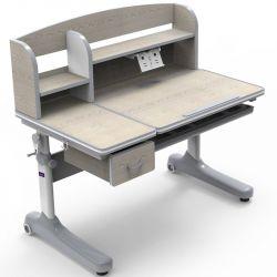 Парта-трансформер для школьника Ammi grey Cubby