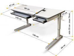 Детский стол Mealux Sherwood XL Lite