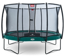 Батут Berg Elite+ 430 + Safety Net T-series D=430 см
