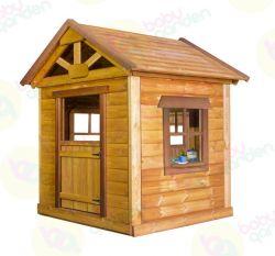 Деревянный игровой домик Babygarden