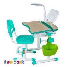 Комплект парта для малышей и стул FunDesk Colore