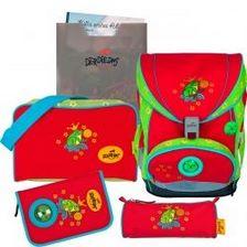 """Ранец ErgoFlex XL """"Царевна-лягушка"""", спортивная сумка, два пенала и папка-бокс"""