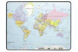 Настольное покрытие с картой мира