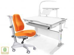 Комплект парта и кресло Mealux EVO-30 + Y-528 (с лампой) (дерево)