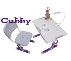 Комплект Cubby парта и стул-трансформеры Lupin