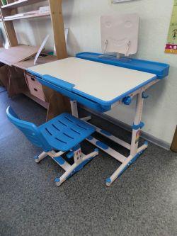 Комплект парта и стульчик Mealux BD-04 New XL (EVO-04 XL new) (образец)
