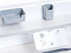 Парта-трансформер для школьника FunDesk Libro с надстройкой и выдвижным ящиком