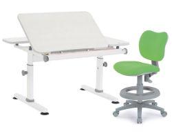 Комплект TCT Nanotec Парта M6+XS NEW с креслом KIDS CHAIR и прозрачной накладкой на парту 65х45