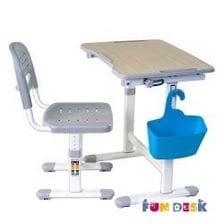 Детская парта растишка и стул FunDesk Piccolino II