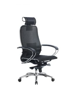 Эргономическое офисное кресло Metta SAMURAI S-2.04 Black Plus