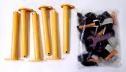 Кронштейн пристенный в сборе 1ДСК Карусель 42х25х250-01(комплект из 6 шт)