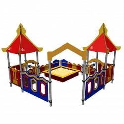 Песочный дворик «Замок» Romana 109.16.00