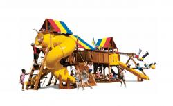 Детский игровой комплекс Rainbow Саншайн Дабл Вамми (Sunshine Double Whammy)