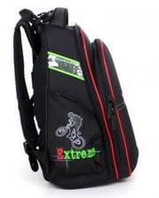 Черный ранец Hummingbird Extreme Urban для мальчика (T33)