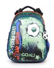 Темно-синий ранец Hummingbird Football для мальчика (T61)