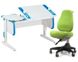 Комплект ДЭМИ Парта Techno СУТ 31 с креслом Match Chair и прозрачной накладкой на парту 65х45