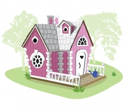 Детский игровой домик Алисы