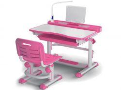 Комплект парта и стульчик Mealux BD-04 с лампой (EVO-04 New)