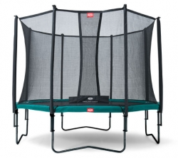 Батут Berg Champion 380 + Safety Net Comfort D=380 см