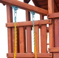 Игровая площадка PlayGarden SkyFort II Spiral со спиральной горкой и рукоходом