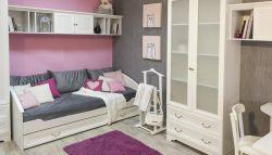 Кровать детская 38 попугаев Классика 95 с дополнительным спальным местом