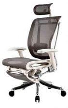 Сетчатое эргономичное кресло Expert Spring с выдвижной подножкой