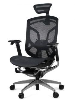 Эргономичное кресло GTCHAIR Dvary Black