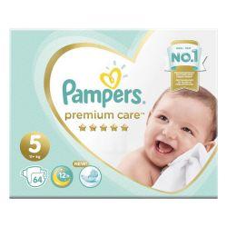 "Подгузники, 64 шт., PAMPERS (Памперс) ""Premium Care"", размер 5 (11+ кг), 1210792"