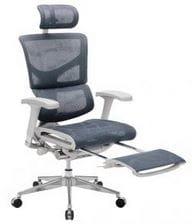 Профессиональное кресло серии Expert Sail с выдвижной подножкой