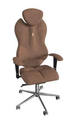 Комфортное кресло Kulik Grand (материал Азур, 3D подголовник)