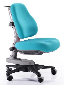 Комплект Comf-pro Стол для двоих детей Twins с креслом «Newton» (Ньютон) и прозрачной накладкой на парту 65х45