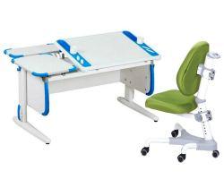 Комплект ДЭМИ Парта Techno СУТ 31-01 с креслом Champion и прозрачной накладкой на парту 65х45