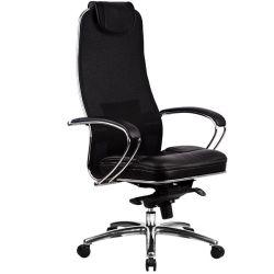 Эргономическое офисное кресло Metta SAMURAI SL-1.02 Black Plus (потертая упаковка)