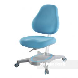 Комплект FunDesk Парта-трансформер Trovare с креслом Primavera I и прозрачной накладкой на парту 65х45