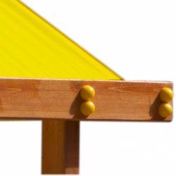 Детская песочница «Дюна с крышей»