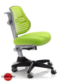 Комплект ДЭМИ Парта СУТ-25-01 WHITE DOUBLE с раздельной столешницей с креслом Conan и прозрачной накладкой на парту 65х45