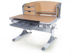 Комплект Mealux Парта Aivengo - M с креслом Cambridge и прозрачной накладкой на парту 65х45