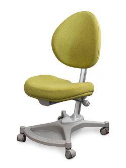 Комплект ДЭМИ Парта СУТ-15-04 120х55 см с задней приставкой с креслом Neapol и прозрачной накладкой на парту 65х45