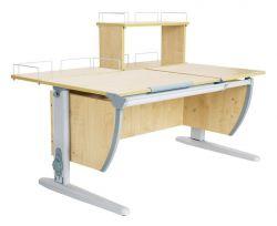Комплект ДЭМИ Парта СУТ 17-01Д с креслом Conan и прозрачной накладкой на парту 65х45