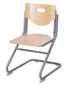 Комплект Астек Парта ТВИН-2 с подвесной тумбой со стулом SK-2 и прозрачной накладкой на парту 65х45