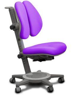 Комплект ДЭМИ Парта СУТ 17-04Д с креслом Cambridge Duo и прозрачной накладкой на парту 65х45