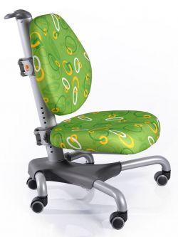 Комплект ДЭМИ Парта СУТ-14-02 75х55 см с задней и боковой приставкой с креслом Nobel и прозрачной накладкой на парту 65х45