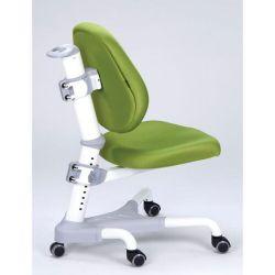 Комплект ДЭМИ Парта СУТ-25-01Д WHITE DOUBLE с раздельной столешницей с креслом Champion и прозрачной накладкой на парту 65х45