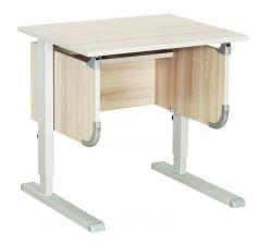 """Комплект ДЭМИ Парта """"Ученик"""" сут-28 с креслом Nobel и прозрачной накладкой на парту 65х45"""