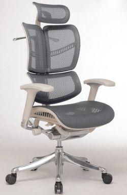 Эргономичное компьютерное кресло Expert Fly с выдвигаемой подножкой