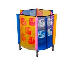 Мини батут Kogee-Tramps 40' с защитной сетью — 102 см