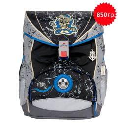 """Ранец ErgoFlex XL """"Пират"""", спортивная сумка, два пенала и папка-бокс"""