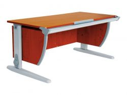 Комплект ДЭМИ Парта СУТ-15 120х55 см с креслом Neapol и прозрачной накладкой на парту 65х45