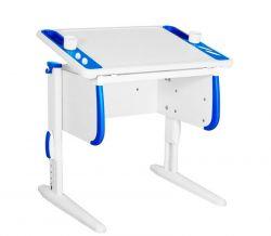 Комплект ДЭМИ Парта Techno СУТ 26 с креслом Stanford Duo и прозрачной накладкой на парту 65х45